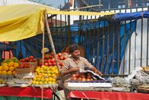 Delhi, India / As varied as its long and colorful past, Delhi sports two distinct personalities: New Delhi with its tree-lined avenues and imposing government buildings, and Old Delhi, a labyrinth of narrow streets lined with crumbling buildings and street hawkers.