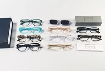 GLASSES / If you have to wear glasses so you can see, they might as well look good.  / by Jennifer M.