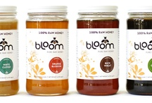 Bloom Honey Collection / 100% RAW.  Unfiltered. Unpasteurized.  The Good Stuff.