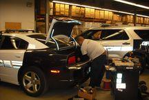 Equipment Installation / Installations at Adamson Industries