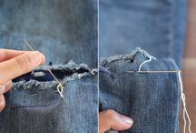 Mending clothes