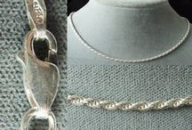 Jewelry > Fine Necklaces / Sterling silver chains, vermeil chains and necklaces.