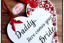 Wedding / Gorgeous handmade affordable wedding items available from Nikki's Novelties   www.nikkisnovelties.co.uk