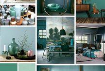 kleur woonkamer