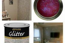 Glitter and shine, baby!