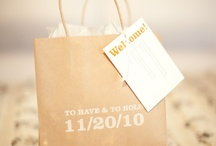 Paper Bag Wedding Ideas
