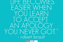 Quotes and Sayings / Learning Forgiveness