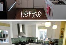 kitchen re-do inspiration / cool kitchen ideas