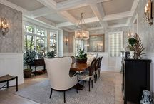 Dining Room Design / Dining room design and decor ideas and inspiration