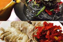 korean food / food, drink, bread, travel, making food, baking.,