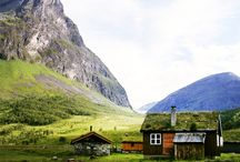Norway / The second country I lived and love it so much. The people, the nature everything is beautiful about Norway.