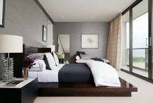 Mr & Mrs / Master bedroom / by Amy Blair
