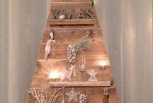 barn wood christmas