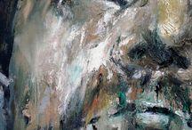 """EXZISTANCES details / """"EXZISTANCES"""", 2011, 20 x 40 cm / 35, 7 x 45 cm / 40 cm , oil on canvas"""