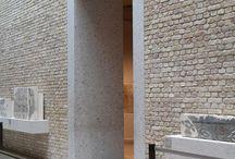 Interior stone walls