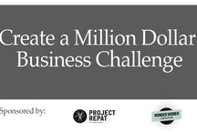 Create A Million Dollar Business Challenge / A 6 week business challenge for growing consumer good companies in the greater Boston area focused on growing your customer base and taking your company to the next level. This challenge is a partnership between Project Repat and Wonder Women of Boston.