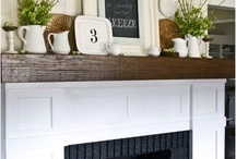 Fireplace remodel / by Derece Williams
