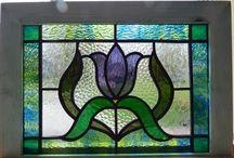 ventanas en vitral