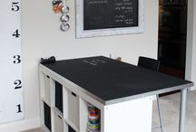 Craft Rooms / Craft rooms and things for in a craft room..