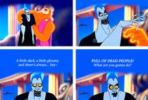 Hades / Hades is the best and the most powerful Villain of all the Disney Universe. But i think he become like that because for all the sufferance go trough his heart become a rock, and when he met Persephone his heart became to beat again.....