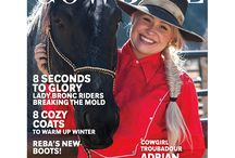 Shop COWGIRL Magazine / Shop for your favorite COWGIRL products like graphic tees and tanks, baseball caps, purses, back issues, bead bottles and books!