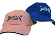 Happy Dog Ad Products / Our Advertising Products, hats, keyholders, bags and many many more...