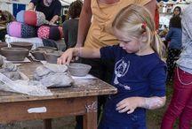 Točení keramiky ve Volyni