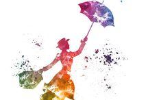 Tatoo Mary Poppins