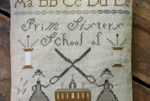 "I love......""little"" needlework,too / Big or little, just so it is needlework.. / by Sandy Kohring"