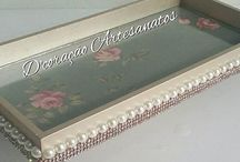 bandejas decoradas