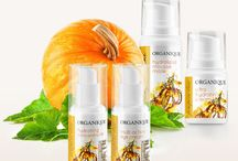 Pumpkin Line / A hydrating face care therapy based on pumpkin flesh extract. / Nawilżająca terapia do twarzy z miąższem z dyni.