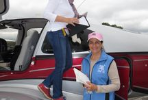Ninety-Nines - Flying Events / The female pilots with the Ninety-Nines hold flying events throughout the year.