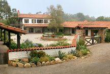 La Hacienda / Hacienda Style Homes in California and the American Southwest. Balboa Real Estate www.BalboaTeam.com
