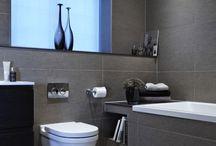 Banheiro maderno