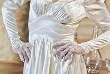 Authentic Vintage Bridal Dresses & Accessories 1930s / Abiti Sposa Vintage Autentici 1930s