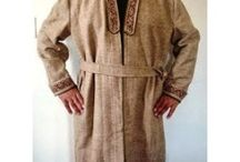 Wool bathrobe for winter evenings / Made from australian sheep wool