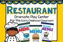 Kindergarten Social Centers...