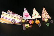 Snoepzakjes / Deze snoepzakjes kun je gebruiken voor verschillende gelegheden met of zonder uw logo.
