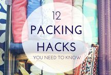 PACKING & TRAVEL HACKS / PACKING, TRAVEL,