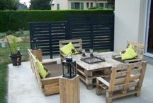 furniture made with old pallets