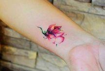 Watercolor tattoos