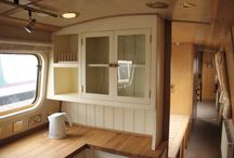 Narrow boat interior ideas