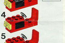 návody Lego