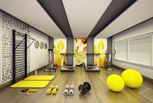 Sală fitness acasă