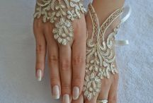 beautyful wedding hands