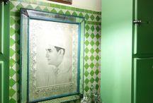 GREEN HOME DECOR / #déco #vert #green #home #decor