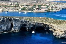 Malta / The entire coastline of Malta with photos and video from a helicopter. The true view of seaside destinations, beaches, hotels, ports, marinas, anhorages.