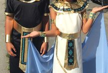 Halloween / Cleopatra and Know King Tut
