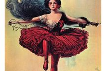 Vintage Circus Posters / Vintage Circus Posters that were inspiration for my YA Fantasy, Pantomime. http://www.lauralam.co.uk