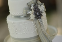 Wedding Cake, Grey, Silver And ...